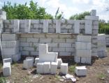 фото - кладка блоков на цементно-песчанный раствор. фото - кладка блоков на цементно-песчанный раствор.